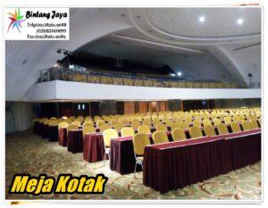 Sewa Meja Kotak 60x120cm Jakarta