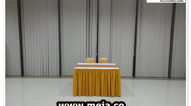 Sewa Meja Kotak Event Bogor