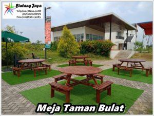Sewa Meja Bulat Taman Event Jakarta