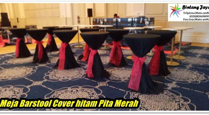 Sewa Meja Barstool Lengkap Cover di Jakarta Bekasi