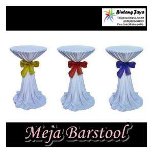 Sewa Alat Pesta | Meja Barstool Cover