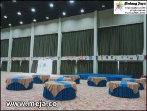 Sewa Meja Bulat Kota Jakarta | Alat Pesta Bintang Jaya