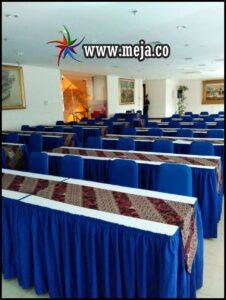 Sewa Meja Kotak+Cover Pilihan Warna di Jabodetabek