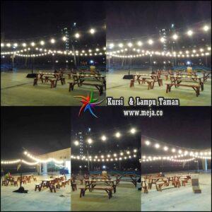 Sewa Meja Kursi Taman Hiasan Lampu Promo Murah Jabodetabek