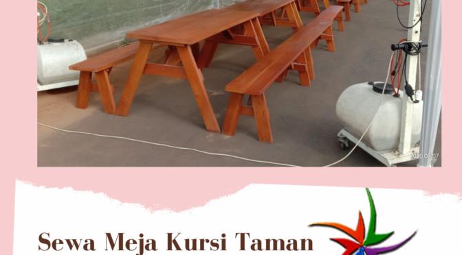 Sewa Meja Taman Alfa Promo Murah Di Jabodetabek