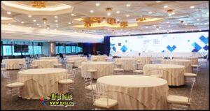 Pusat Sewa Meja Bundar Promo Gratis Ongkir Event BRI