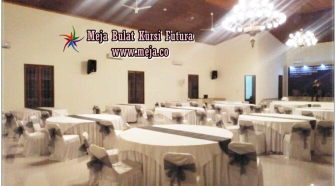 Pusat Penyewaan Meja Bulat & Kursi Futura Paling Murah di Jabodetabek