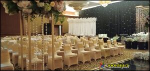 Sewa Alat Pesta ( Meja Bulat ) Event Wedding