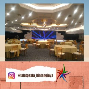 Meja Bulat Kursi Tiffany Sewa Promo Free Ongkir Jabodetabek