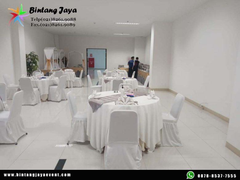 Jasa Sewa Meja Bulat Lengkap Taplak Mewah Berkelas Promo Free Ongkir Jakarta