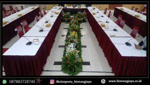 Sewa Meja Kotak & Mini Garden Event Bea Cukai MM2100