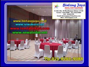Rental Meja Bulat Kemayoran Jakarta Pusat