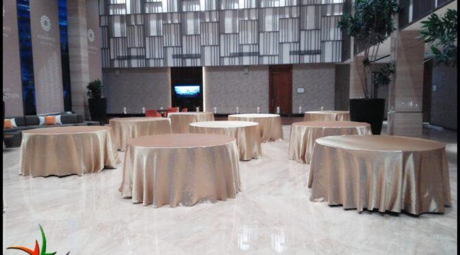 Rental Meja Bulat Kemayoran Jakarta