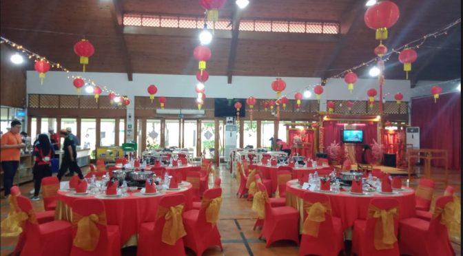 Sewa Meja Bulat Event Tahun Baru China