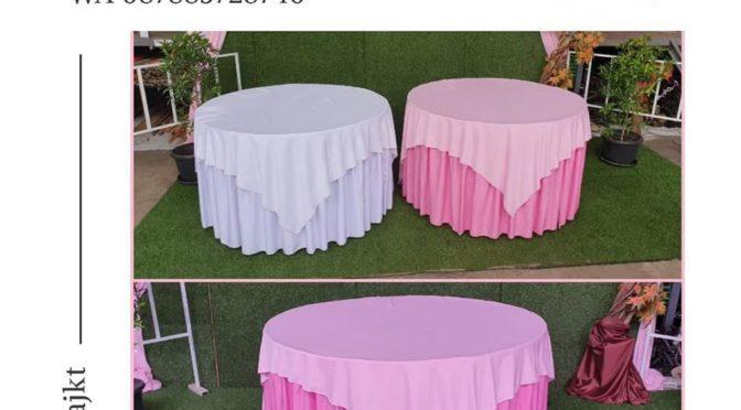 Sewa kursi dan meja bulat