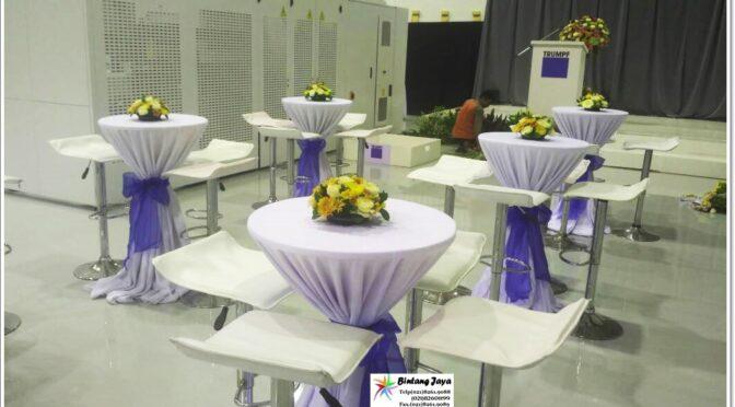 Sewa Meja Kursi Barstool Populer di Jakarta Pusat