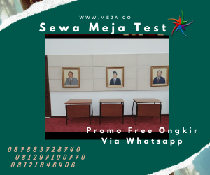 Sewa Meja Test Hpl Jakarta Bekasi Depok Pelayanan 24 jam