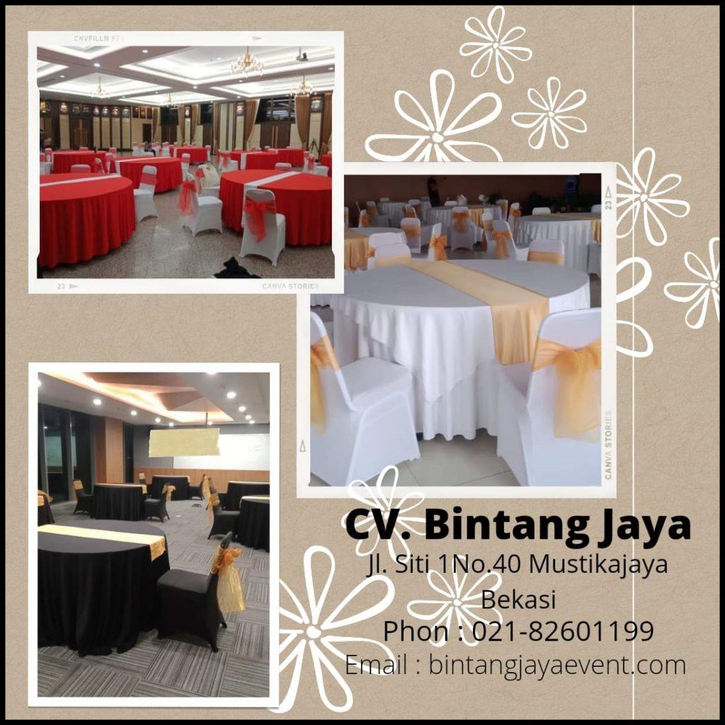 Jasa Sewa Meja Bulat - Jakarta Pusat